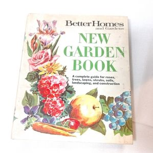 Vintage BH&G Binder Garden Book